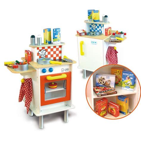 childrens kitchen accessories vilac sided play kitchen w accessories buy 2170
