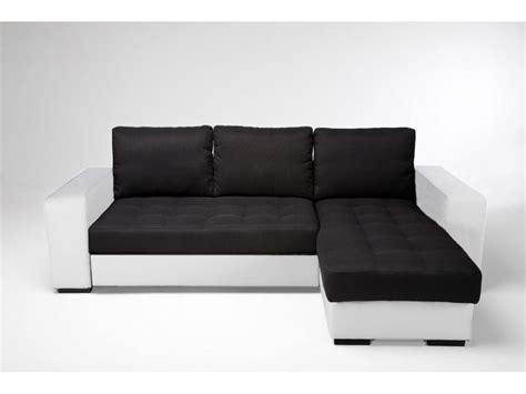 conforama canape angle canapé d 39 angle noir conforama