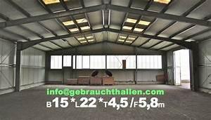 Gebrauchte Immobilie Qm Preis : gebrauchte stahlhalle 15x22m zu verkaufen hbs330s ~ Buech-reservation.com Haus und Dekorationen