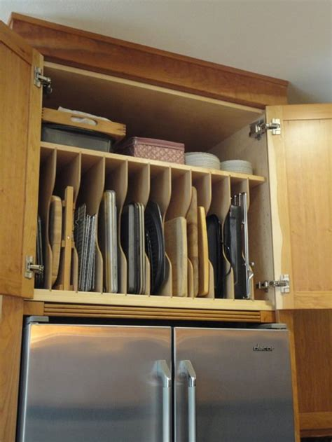 cookie sheet organizer ideas remodel and decor