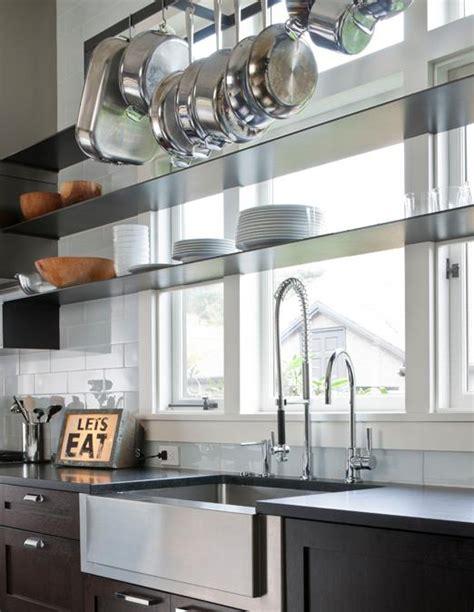 kitchen window shelves contemporary kitchen nb