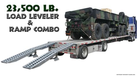 53 Step Deck With Rs by Step Deck Trailer R And Load Leveler