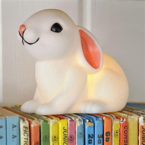 baby bunny night light rex london dotcomgiftshop