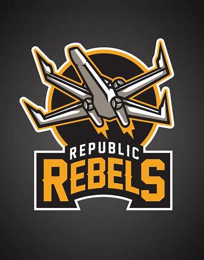 Wars Logos Star Team Sports Rebels Republic
