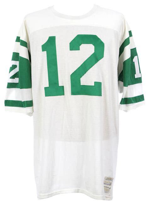 home jersey lot detail 1969 1972 joe namath new york jets home jersey Jets