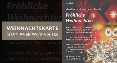 Dies kann angehörige bei der abschiednahme und. Weihnachtskarten Selbst Gestalten Vorlagen Fabelhaft Weihnachtskarte Als Kostenlose Word Vorlage ...