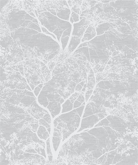 whispering trees grey wallpaper decorsave wallpapers