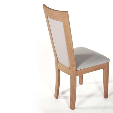 chaise bois et tissu chaise en bois et tissu rembourré crocus 4 pieds tables chaises et tabourets