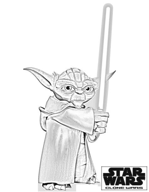 star wars yoda coloring pages coloring pages  kids
