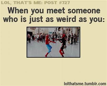 Relatable Spiderman Funny Spider Deadpool Meet Someone