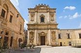 Church Of St. Anna. Mesagne. Puglia. Italy. Royalty Free ...