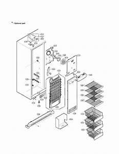 Refrigerator Compartment Parts Diagram  U0026 Parts List For