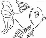 Goldfish Coloring Pages Printable Fish Drawing Bowl Cool2bkids Outline Printables Getcoloringpages Getdrawings Getcolorings sketch template