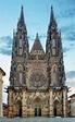 St. Vitus Cathedral In Prague Castle In Prague Stock Image ...