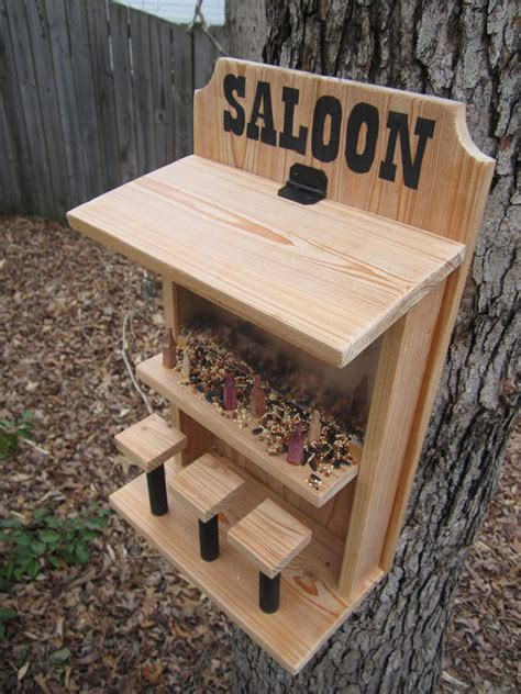 unique bird feeder designs  adirondack footstool