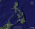 Satellite Map of the Philippines - A satellite photo of ...
