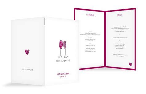 menuekarten zur hochzeit professionell und individuell