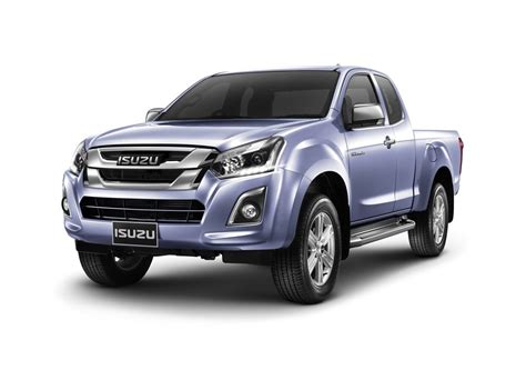 isuzu dmax 2016 2016 isuzu d max facelift front quarter purple launched