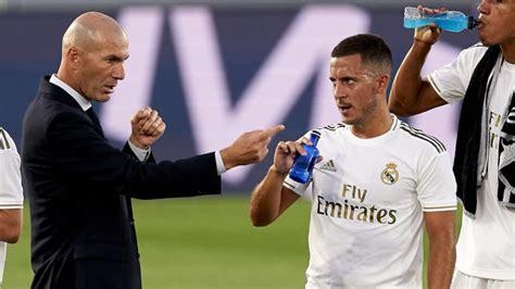 Zinedine Zidane Confident Eden Hazard Will Find Form Again ...