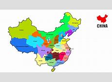 How to draw map of China China Provinces map YouTube