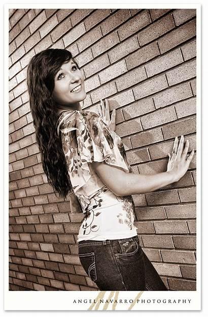 Senior Shoot Outdoor Brick Bradenton Wall