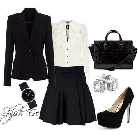 Black and White Winter 2013 Outfits for Women by | Stylish ...