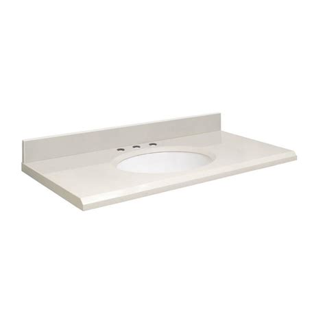 49 double sink vanity top shop transolid milan white quartz undermount single