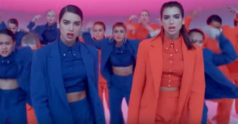 Watch Dua Lipa Dance Battle Herself In Kinetic 'idgaf