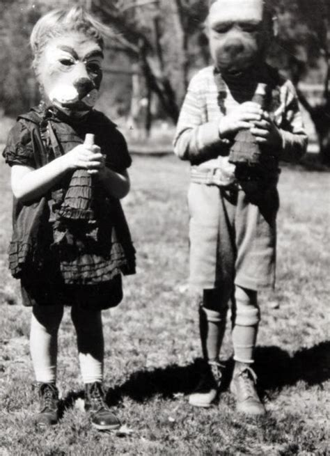 vintage everyday creepy halloween costumes  bewteen