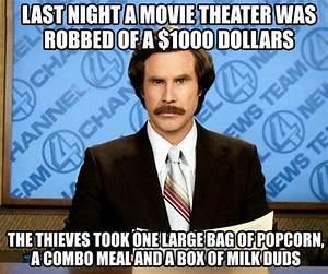Movie theater was robbed of $1000 dollars - Jokes, Memes ...