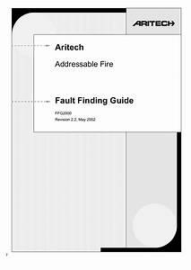 Aritech Fault Finding Guide