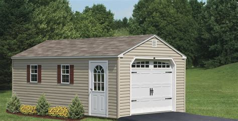 Prefabricated Garages & Garage Sheds in PA   Amish