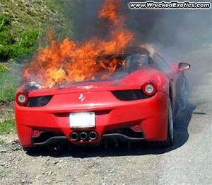 Top 5 Wrecked Ferrari 458 Italia Supercars Imagine