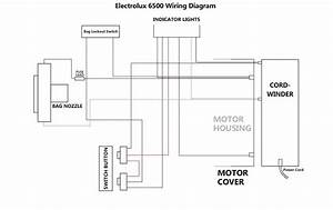 Electrolux 2100 Vacuum Wiring Diagram Schematic