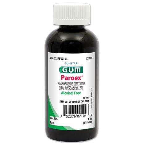 Chlorhexidine Gluconate Paroex 174 Chlorhexidine Gluconate Oral Rinse Usp 0 12