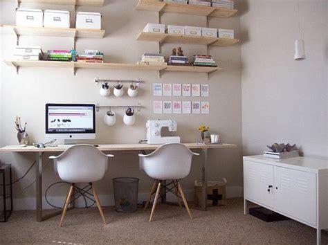 joli bureau beaucoup de rangements en photos pour un bureau feng shui