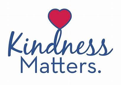 Kindness Kind Clipart Matters Transparent Week Acts