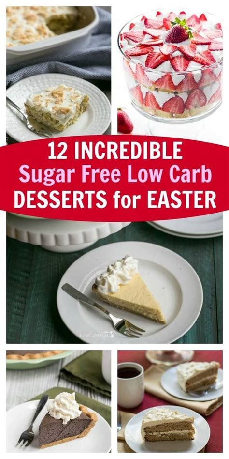 My mom told me i would grow out of it, but nope, here i am still. 12 Incredible Sugar-Free Low-Carb Desserts For Easter   Sugar free low carb, Sugar free low carb ...
