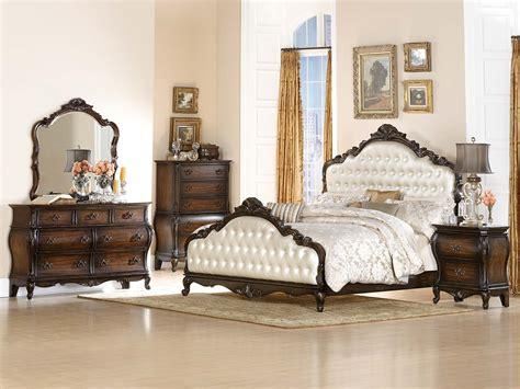 upholstered bedroom set homelegance bayard park upholstered bedroom set cherry