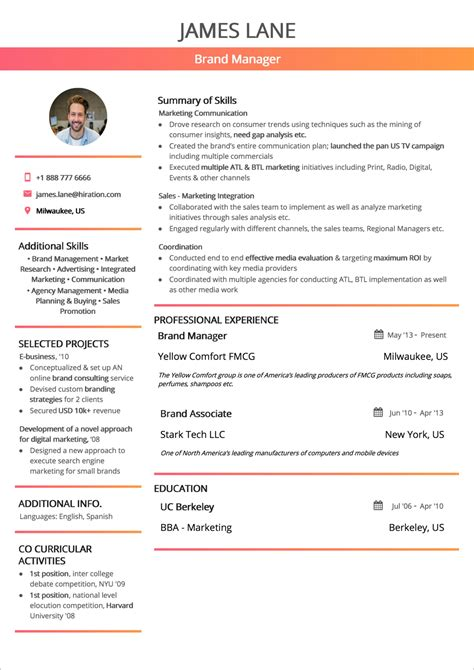 Free Resume Format by Resume Format 2019 Guide With Exles