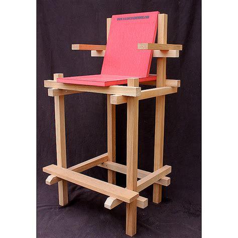chaise haute exterieur chaise haute d 39 exterieur en palette