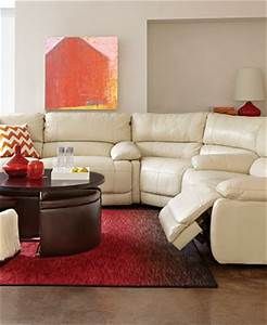 nina leather sectional living room furniture collection With nina leather sectional sofa