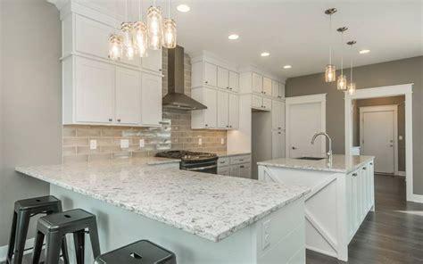 alaska white quartz white granite kitchen alaskan white