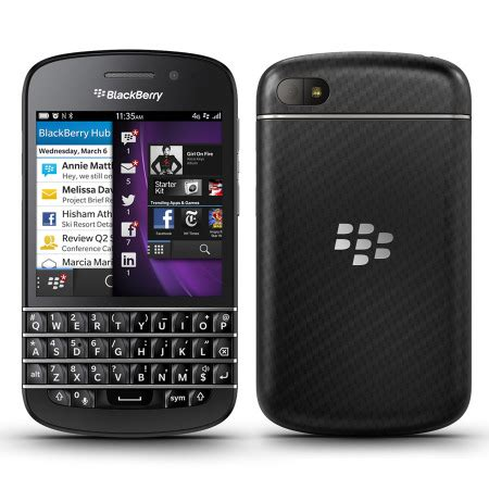 sim free blackberry q10 black