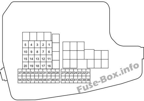 2014 Mazda 6 Fuse Box Diagram by Fuse Box Diagrams Gt Mazda 6 Gj1 Gl 2013 2019