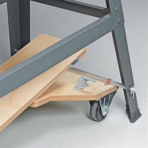 easy lift mobile base woodworking tools woodworking
