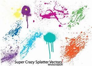 Super Crazy Splatter Vector | Download Free Vector Art ...