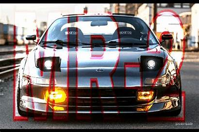 Toyota Tuning Cars Mr2 Japan Macpherson Colorful