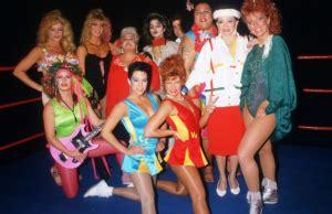 Tina ferrari glow hollywood (page 1) glow the gorgeous ladies of wrestling prowresblog: Tina Ferrari Talks About GLOW on Netflix - OWW