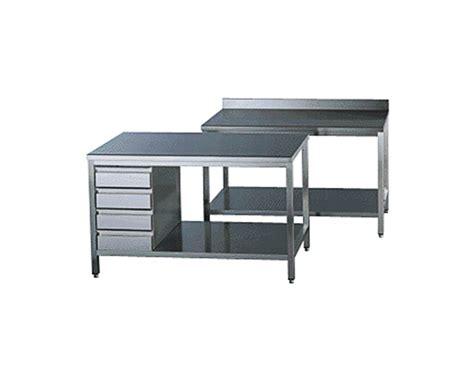 plonges et tables inox gamme 700 standard top
